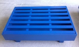 METAL PALLET WITH SAFETY BOX