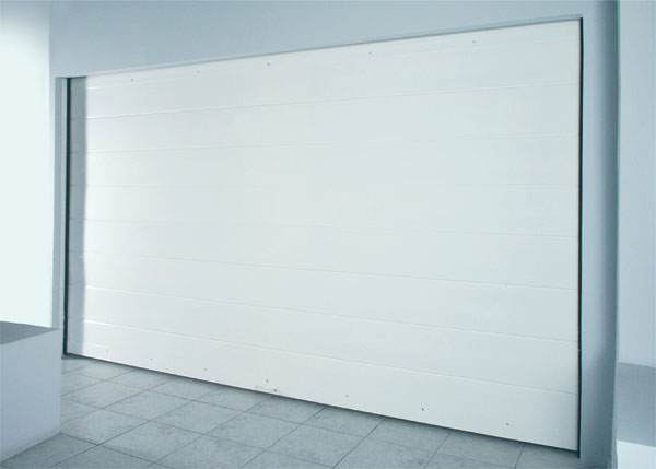 Tongue groove single - sheet Garage Door, R542